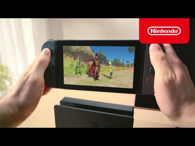 Nintendo Switch TVCM 『ドラゴンクエストヒーローズI・II for Nintendo Switch』篇