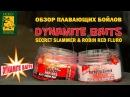 Обзор плавающих бойлов DYNAMITE BAITS от Алексея Фадеева (Secret slammer Robin red fluro)