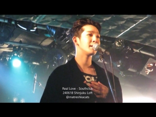 [240618] southclub japan tour 2018 in tokyo real love