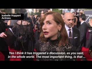 Hollywood actresses explain why times up at the golden globes
