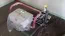 Cłapa Floor Master Robor podaczas pracy na budowie