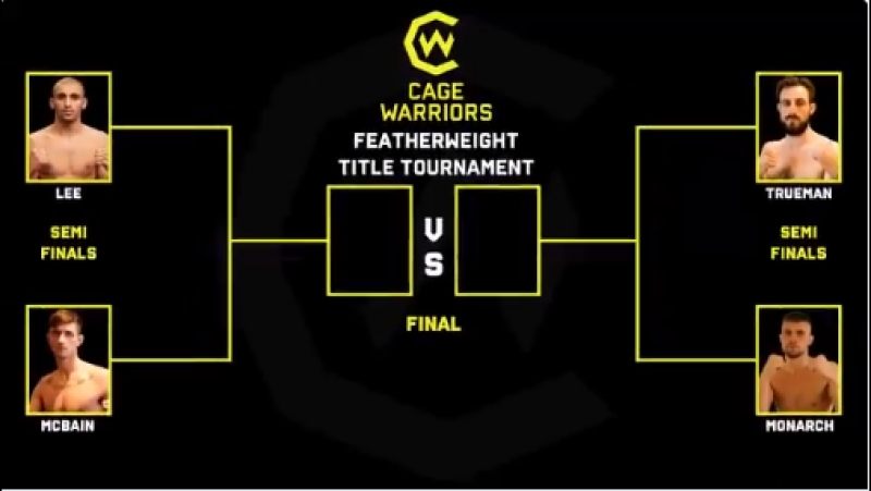 The CW98 Featherweight Title Tournament McBain Lee Trueman Monarch 4 warriors fight for a chance at the belt on Oct 20th