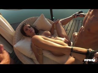 The insatiable slut Malena takes a cock in the ass and one in pussy and 13 more in the mouth (1080p)