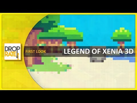 First Look: 'Legend of Xenia 3D' (Itch.io)