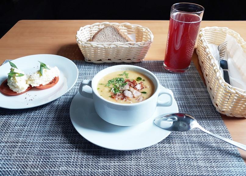 бизнес ланч в Bonjour Cafe вконтакте