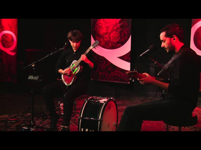 Buke and Gase perform Houdini Crush in Studio Q