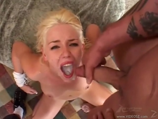 effective? hot blonde gets her slutty face blasted with cum simply excellent idea