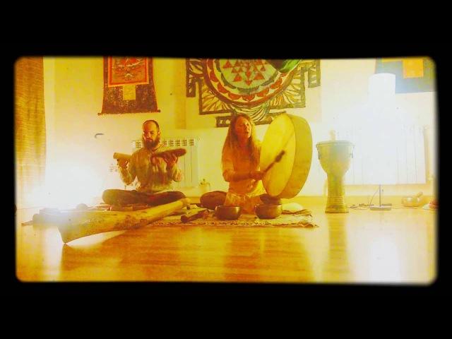 Медитативная музыка   Этно-транс проект Два Дерева