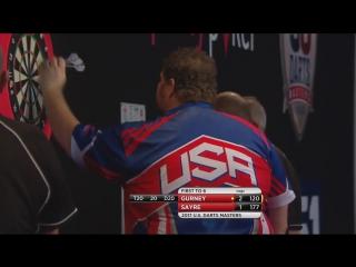 Daryl Gurney vs Dennis Sayre (PDC US Darts Masters 2017 / Round 1)