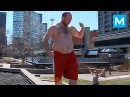 Kung Fu Panda in Real Life - Sebastien Charron   Muscle Madness