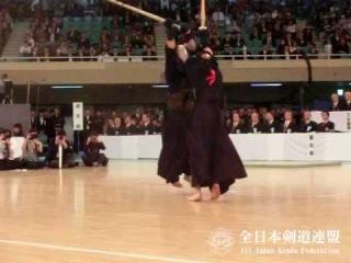 SlowMotion - MIYAMOTO's M (vs KATSUMI) - 64th All Japan KENDO Championship - Semi final 62