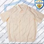 сорочка рубашка для кадетов кремовый цвет