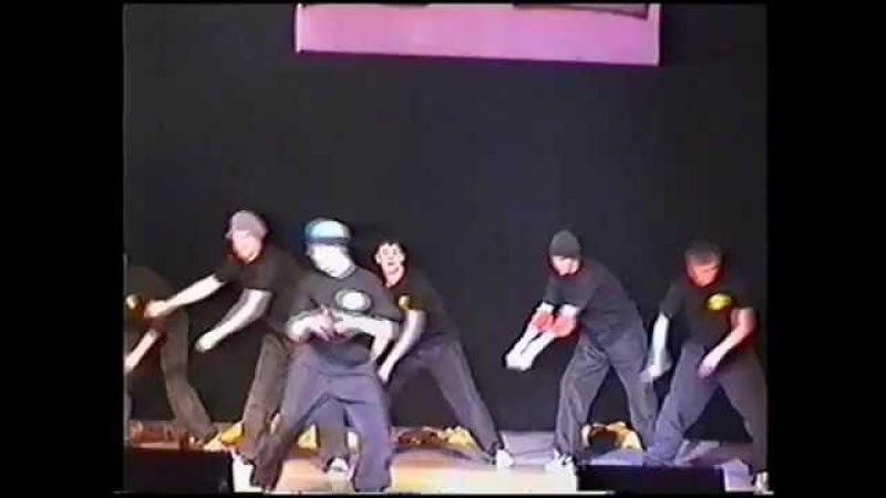 История Омской Хип Хоп Культуры 2002 год Хип Хоп Марафон Break Dance Show Street Athletics crew
