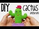 DIY Cactus amigurumi crochet/ganchillo (tutorial)