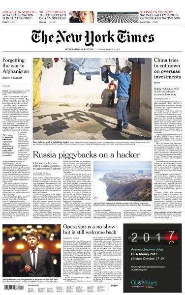International New York Times 14 March 2017 FreeMags