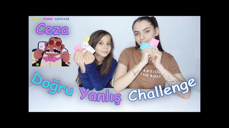 Doğru Yanlış Challenge - Burun Yalama Cezalı IYY - Eğlenceli Çocuk Videosu - Funny Kids Videos