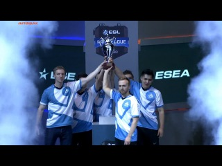 Cloud9 champions of Pro League S4 @ Winning moment vs SK-gaming (2:1) #AfterGame winners emotions