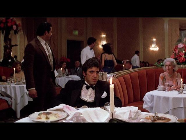 Я всегда говорю правду даже когда вру Лицо со шрамом фильм 1983 Сцена 7 10