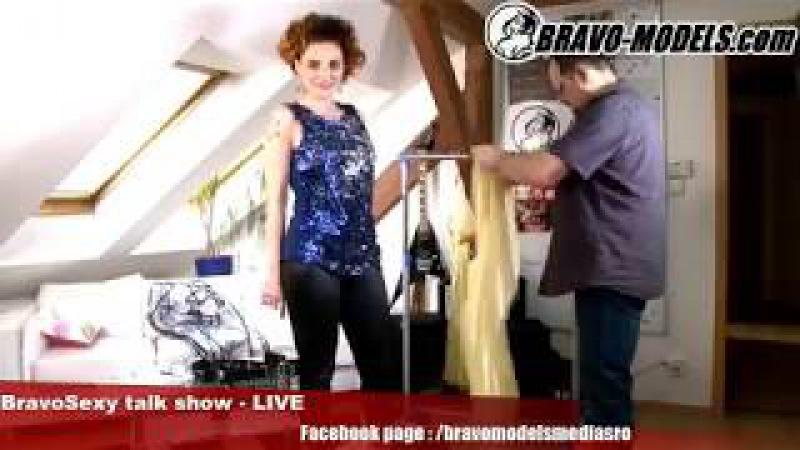 BravoSexy talk show 01 2018 se Sarah Star host YELEN latex fetish producer