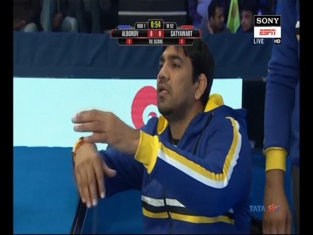 PWL 3 Day 1: Mumbai Maharathi's Satyawart Kadyan vs Delhi Sultans' Alborov Aslan   Highlights