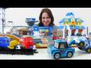 Видео и мультики про машинки на русском языке. Развивающие видео для детей от 3 лет. Маша и машинки