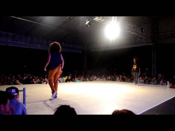 SDK 2012 HIP HOP FEMALE CONTEST (12 FINAL Tie Breaker) - Mufasa vs Niki