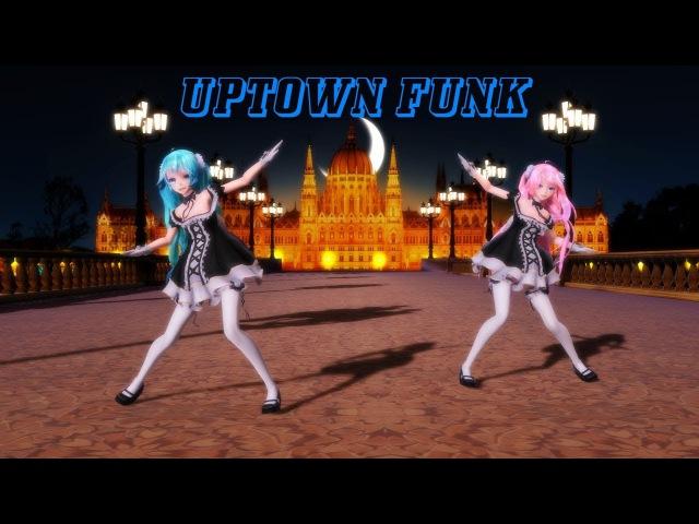 [MMD] Uptown Funk Short - Miku X Luka Lolita (Motion DL)