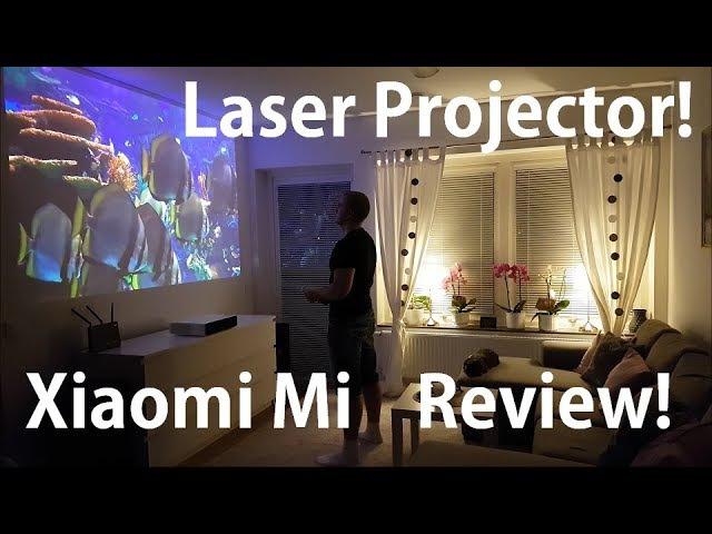 Xiaomi Mi Laser projector review! 150 Ultra short throw