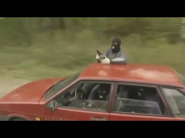 Охота на асфальте 2005 3 серия short car chase scene