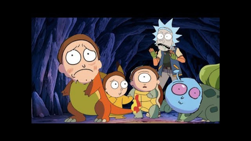 Rick and Morty покемоны? / Pocket Mortys / Veinz