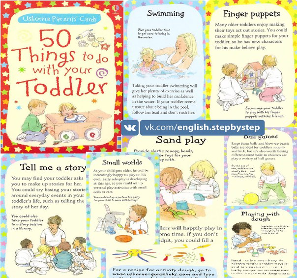 50 things to do with your toddler usborne parent s cards