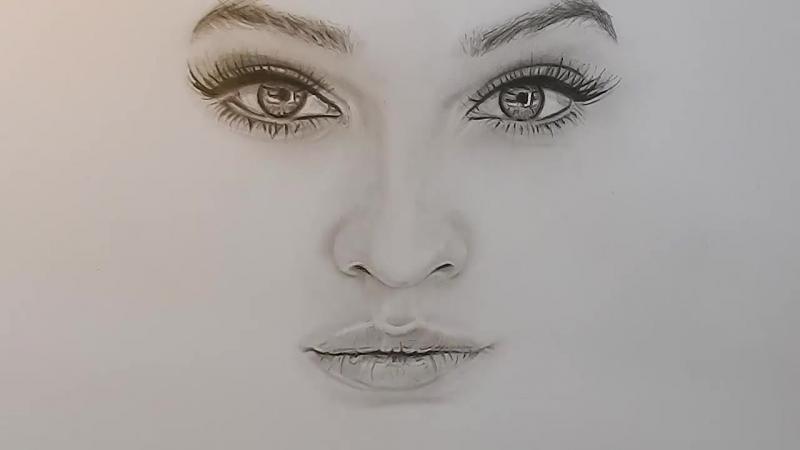 прооперировали картинки карандашом губы глаза в глаза игрой