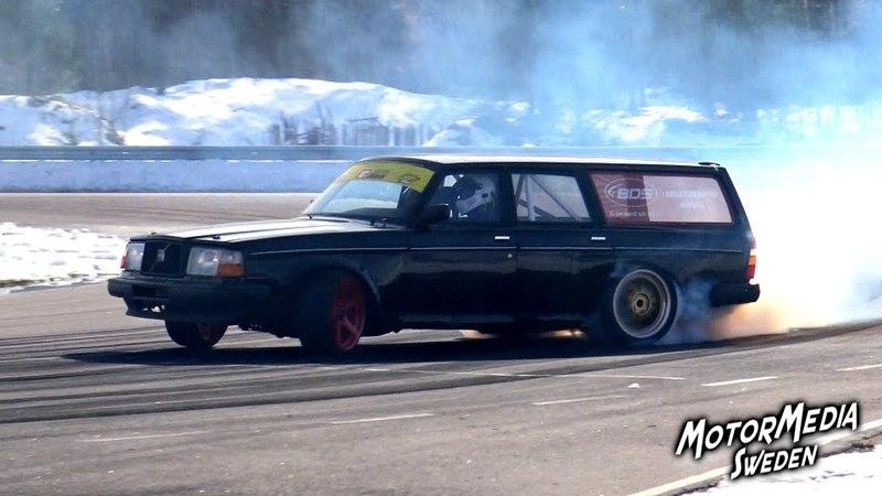 2018-03-23 - Drifting Test på Mantorp Park