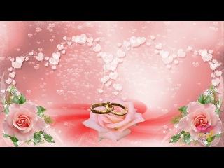 Очень красивый и нежный свадебный футаж!!! Бесплатно!!!
