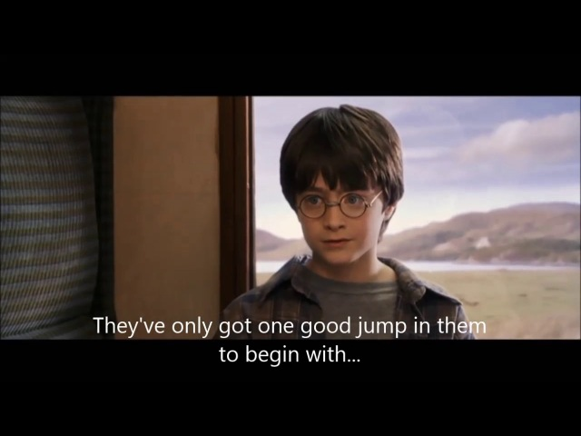 Harry Potter and the Philosopher Stone : Harry meets Ron and Hermione English sub