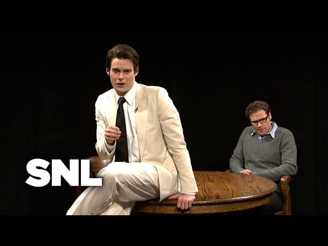 Vinny Vedecci Talks to Seth Rogen - Saturday Night Live