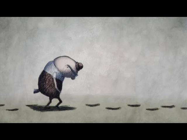 FOOTPRINTS by Academy Award Nominated Animator Bill Plympton