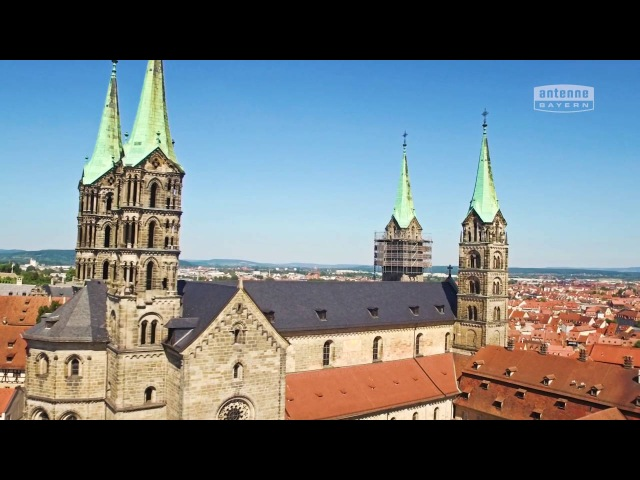 Bamberg von oben ANTENNE BAYERN Bayern von oben