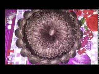 How to make.new design cosion ball wala simple design.at home..Nisha bhati macrame art