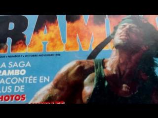 """Видеообзор-мой журнал """"cine-rock"""" с рэмбо!!!(г)"""