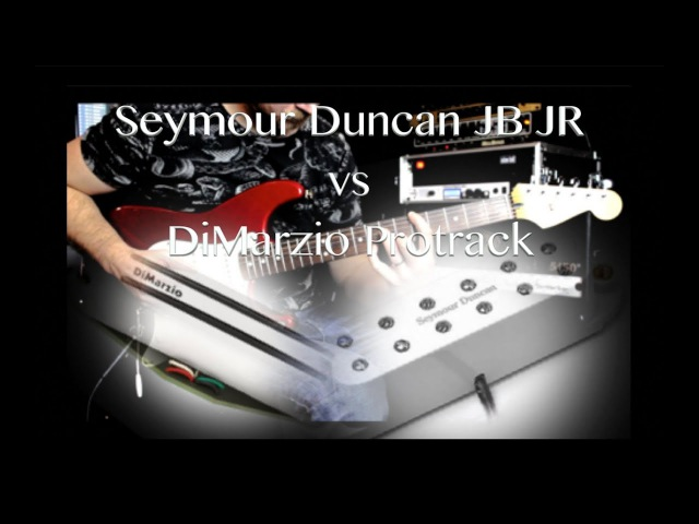 Seymour Duncan JB JR vs DiMarzio Pro Track