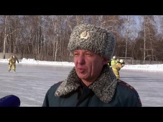 Флешмоб омских спасателей к 8 марта