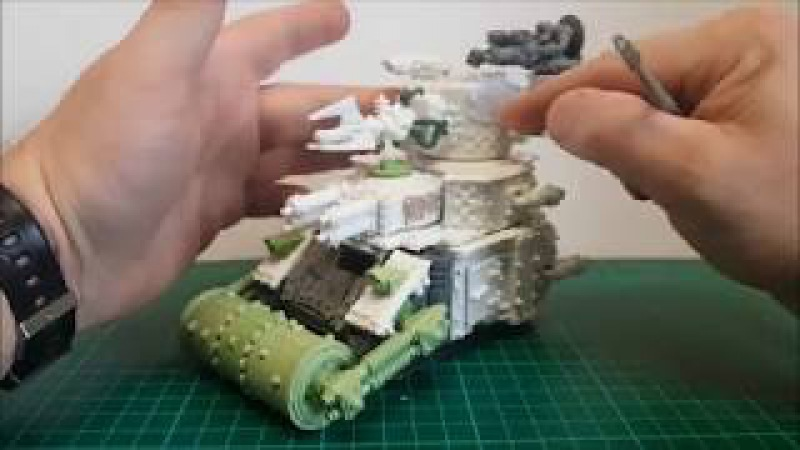 Warhammer 40k Ork Army Mek Boy Junka Da Green one to cast