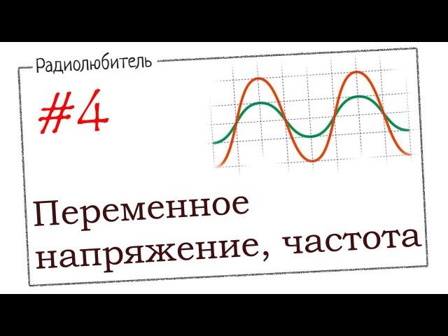 Урок №4 Переменное напряжение Частота