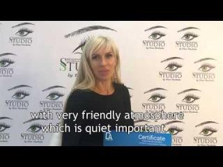 Отзыв ученицы. Обучение ресниц с нуля. Review from the student, eyelash training from zero. Juliya
