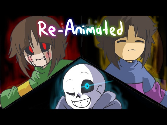 Glitchtale S1 EP1   Megalomaniac Re-Animated by jakei and superyoumna   ANNIVERSARY SPECIAL