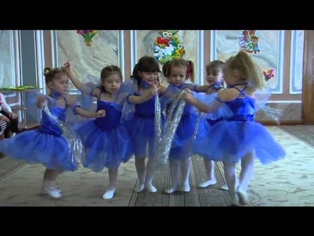 Танець краплинок (середня група)