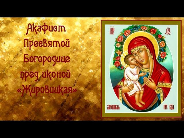 Об исцелении от недугов и телесной немощи Акафист Пресвятой Богородице пред иконой Жировицкая