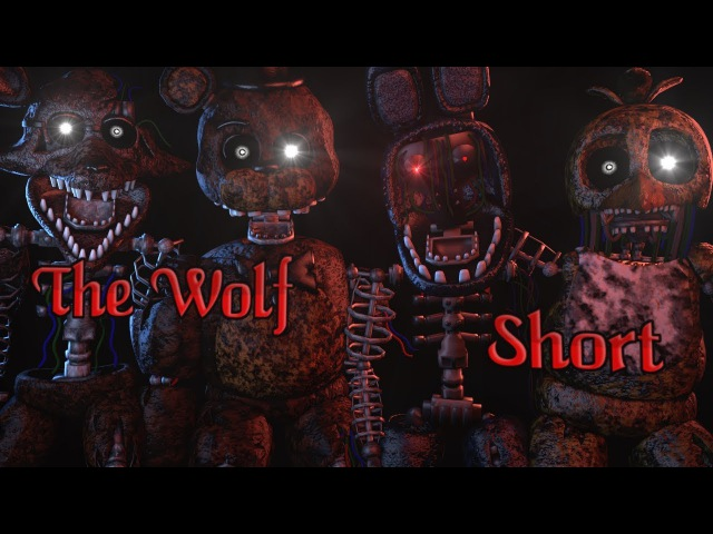 FNAF SFM Short The Wolf SIAMÉS