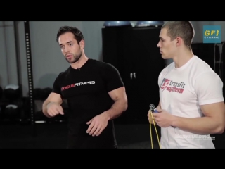 Тренировка по кроссфиту от Рича Фронинга. Кроссфит WOD для начинающих и продвинутых.